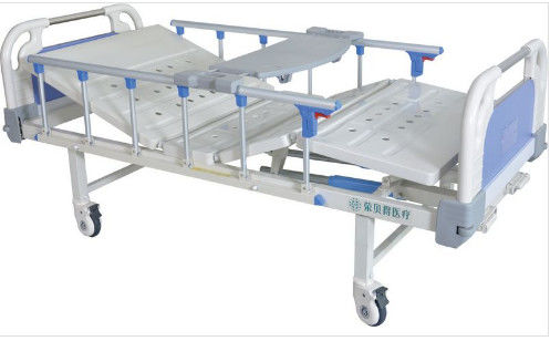 Multifunction Movable 2160*950*500mm Manual Hospital Bed