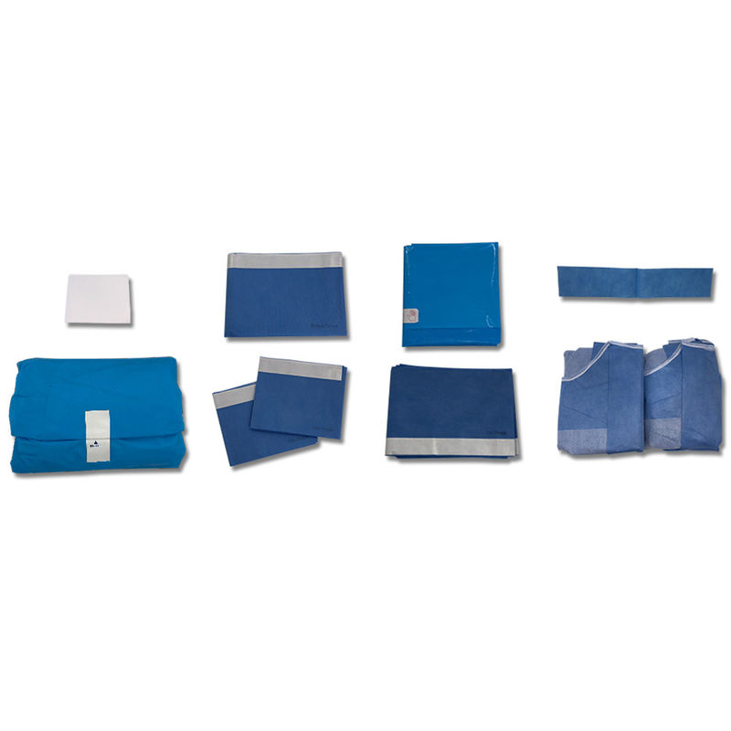 PE Non Woven Hospital Disposable Surgical Drapes Packs
