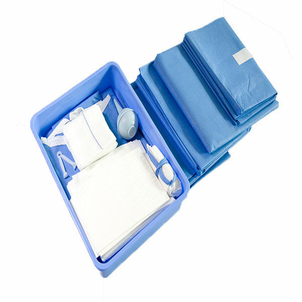 Comfortable Disposable Non Woven Sterile Surgical Packs