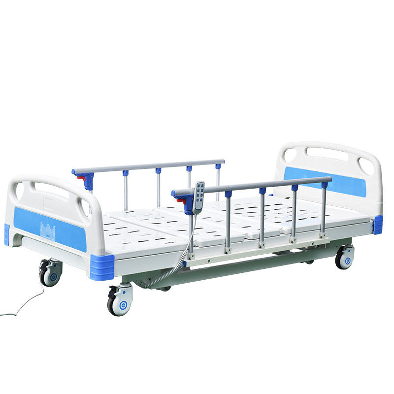 Hospital Furniture ABS Movable Three Function Electric Bed